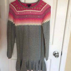 Gap kids knit sweater dress